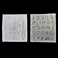 letters Silicone Mould DIY Resin Decorative Craft Jewelry Making resin molds XB