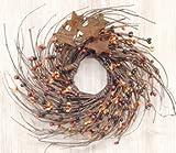 Pip & Twig Wreath with Rusty Stars