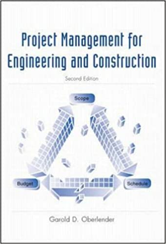 Project Management for Engineering and Construction by