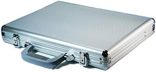B4薄型アルミアタッシュケース A4ノートパソコンが余裕で入る キー付き メンズ レディース