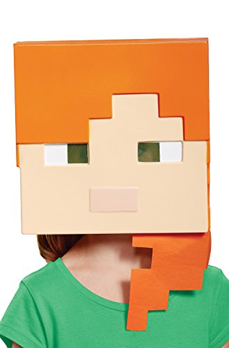 Alex Minecraft Child Mask]()
