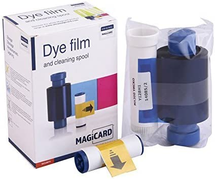 KIT NEW Genuine Magicard MA300YMCKO Color Ribbon MA300YMCKO 500 PVC Cards