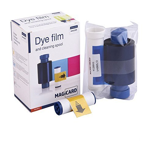 Magicard Enduro Pronto Rio Pro ID card printer color Ribbon 5 panel colour dye film MA300YMCKO 300prints 5rolls/lot