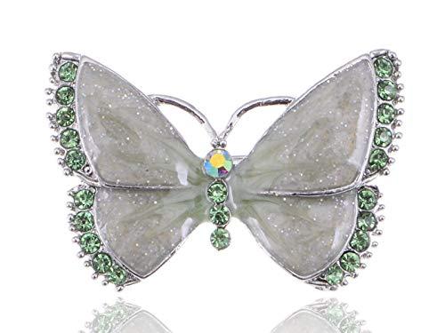 Fashion Gold Tone Rhinestone Crystal Wedding Bridal Flower Brooch Pin 50 Kinds (Style - Style 14) (Celtic Pewter Cake)
