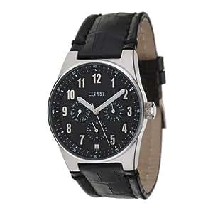 Esprit Live Up ES101912002 - Reloj de mujer de cuarzo, correa de piel color negro
