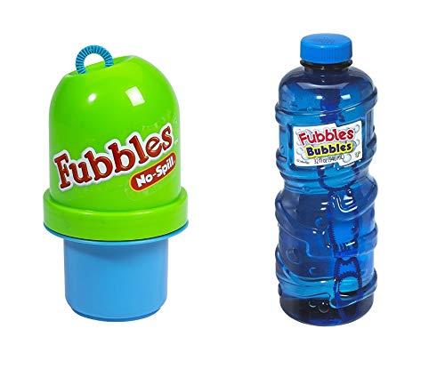 Little Kids Fubbles Bubbles Pack - Includes a No-Spill Tumbler - 32oz Premium Bubble Solution (Colors May Vary) … … by Little Kids