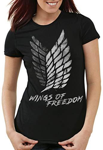 de mujeres Wings Explicaci Ataque Camiseta Of Freedom Hormiga wqPxB8Iq