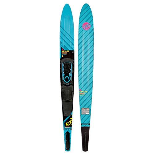 (O'Brien Impulse Slalom Waterski W/X-9 Adjustable Binding and Rear Toe Plate (64))