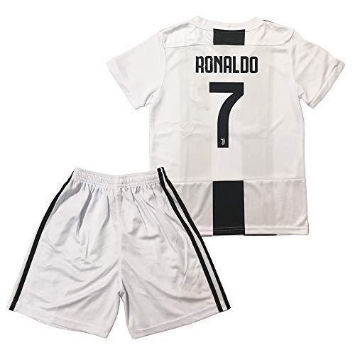 1200d957c77 GLL SPORT New 2018-2019 Home Juventus  7 Ronaldo White Soccer Football  Jersey for