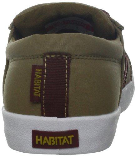 Chaussures Dhabitat Mens Austyn Skate Shoe Khaki