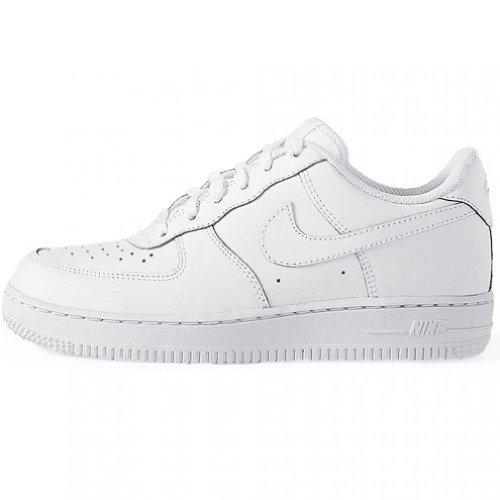 Nike Force 1 (PS) Boys Fashion-Sneakers 314193-117_3Y - White/White-White