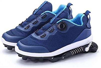 WeeLion Zapatillas de Deporte Unisex de Primavera - Zapatillas mecánicas Transpirables Resistentes al Desgaste y Transpirables. Niños Adultos - Fitness/Dancing/Running/Basketball,Blue,39: Amazon.es: Hogar