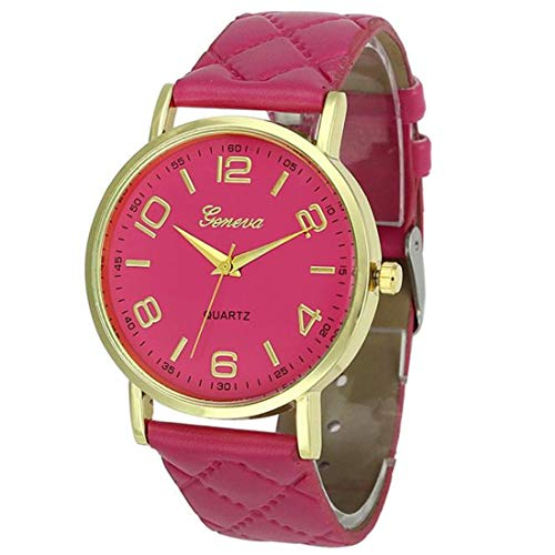(Womens Watches Rose Gold,Fashion Womens Classic Gold Quartz Stainless Steel Wrist Watch Watches for Women)