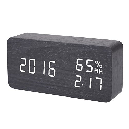 Hopesooky Activated Temperature Humidity Black White product image