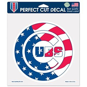 Wincraft MLB Chicago Cubs 27689015 Perfect Cut Color Decal, 8