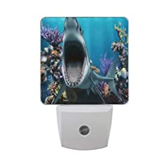 LED SENSOR NIGHT LIGHE INSTRUCTION ❥INTRODUCTION: -- HIGH BRIGHTNESS LED INSIDE: Lights up at dusk, turns off at dawn automatically. It lasts up to 100000 hours. Cool to the touch. Low maintenance cost, convenient to use and so on. It could b...