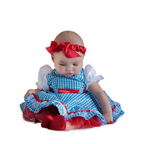 Princess Paradise Baby Girls' The Wizard of Oz Dorothy Newborn Deluxe Costume, As As Shown 3/6M -