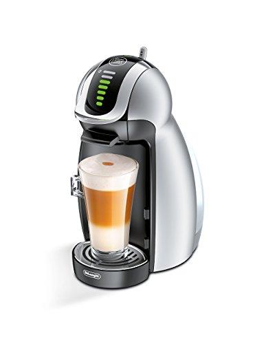 DeLonghi EDG 466.S Nescafé Dolce Gusto Genio Kaffeekapselmaschine (1600 Watt, automatisch) silber