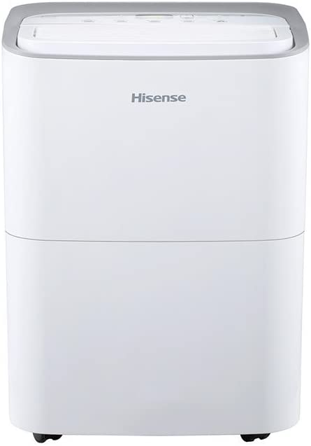 Hisense 35 pint 2-speed Dehumidifier DH35K1W Renewed