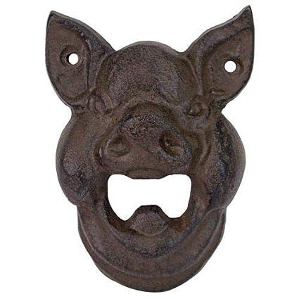 Verzamelingen Antique Finish Replica Kroeg Cast Iron Bulldog Wall mounting Bottle Opener