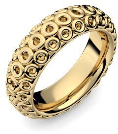 Goldring mit stein  Goldring 750 + inkl. Luxusetui + Ring Gold Ring ohne Steine Gold ...