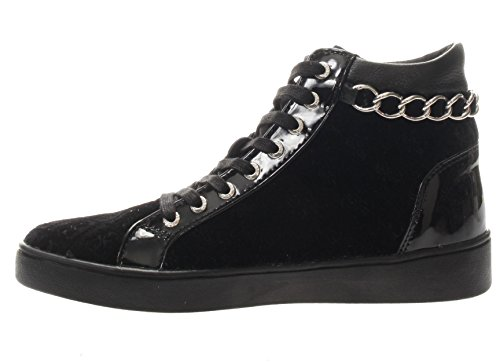 Guess FLGER3 FAB12 Sneakers Women Black BwxpQWhkgC