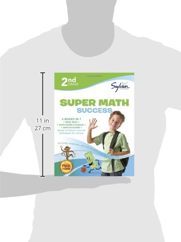 2nd Grade Super Math Success: Activities, Exercises, and Tips to ...