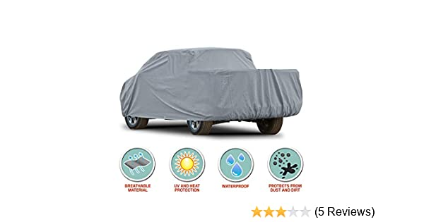 BDK Quad-Layer Heavy Duty Waterproof Car Cover for Mazda Miata MX-5