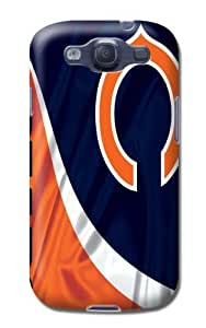 Nfl Chicago Bears Football Tpu Skin Cover Case Compatible With Samsung Galaxy S3 by kobestar