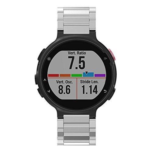 For Garmin Forerunner 220 230 235 630 620 735,Sunfei Metal Stainless Steel Watch Band Strap -