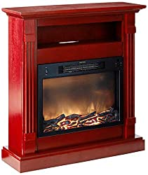 Cambridge Sienna Fireplace Mantel with Electronic Fireplace Insert from Cambridge