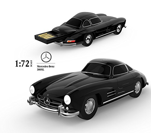 Cool 16GB USB2.0 Car Flash Drive Jump Drive Zip Drive Mercedes-Benz 300SL 1:72 - Car Diecast Manufacturers