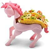 Perfect Buddy Unicorn Taco Holder for kids - The Ultimate Magical Taco Stand in Pink for Taco Tuesday and Unicorn Parties - Holds 2 tacos - Perfect Gift for girls