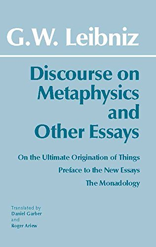 Discourse on Metaphysics and Other Essays (Hackett Classics)