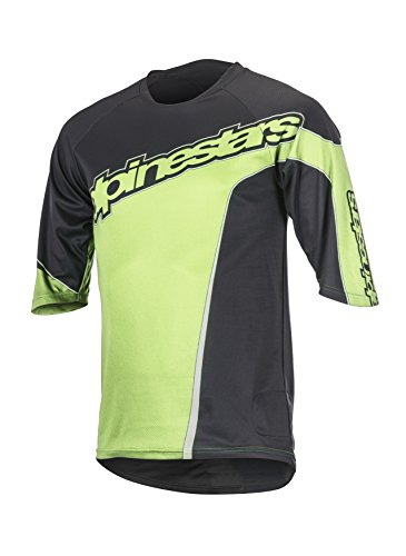 Maglia manica Crest 2017 corta Men Model Black Alpinestars L Green Cycling 6Zwgwq
