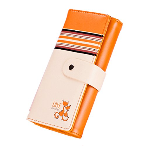 OURBAG - Cartera de mano para mujer, amarillo (Amarillo) - OURBAGtEseqR7Jc naranja