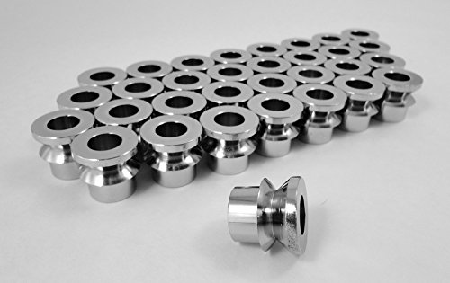 Steinjäger For 3/4 Rod Ends V Style Rod End Misalignment Inserts Yields 5/8 Bore Chrome Moly 32 Pack