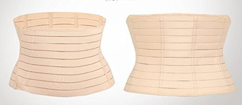 AZMED 3in1 Postpartum Belly Wrap, One Size, Beige