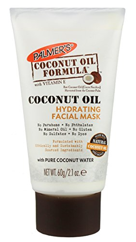E.T. Browne Drug Company Palmer's Coconut Oil Formula Hydrating Facial Mask, 2.1 Ounce (Coconut Oil Facial Moisturizer)