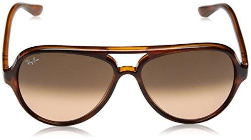 Ray-Ban Unisex Cats 5000 RB4125 59mm Havana/Pink Brown Gradient Sunglasses