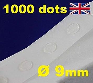 200 Glue Dots Sticky Craft Clear Dot Card Making Scrap Booking Arts Balloon Card
