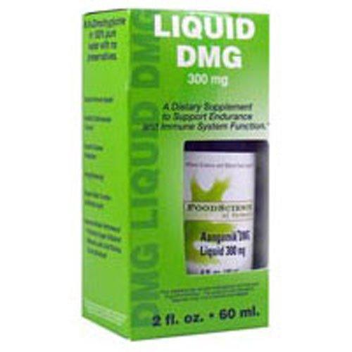 - FoodScience of Vermont Liquid DMG - 300 mg - 2 fl oz