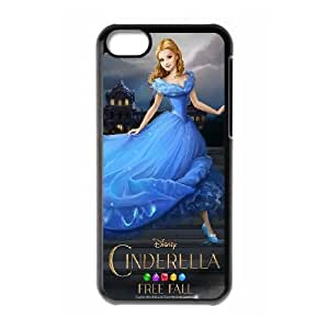 Cinderella iPhone 5c Cell Phone Case Black as a gift T5558888