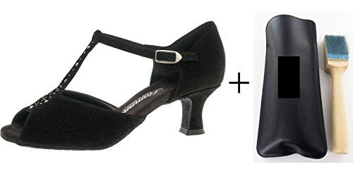 Con 010-064-101 donna danza scarpe, con MC-danza pennello sgrossatura