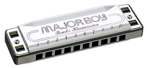 Tombo Major Boy Key of A-flat 10-hole Harmonica
