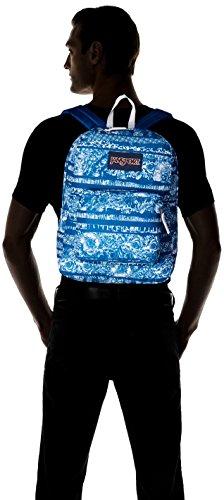 Jansport Superbreak Backpack, Midnight Sky Floral Stripe, One Size