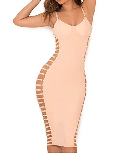 Bustier Knee Length Dress - 3