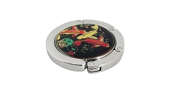 Amazon.com: eDealMax Modelo de la Flor de Loto Bolsa de Metal magnético Monedero percha: Home & Kitchen