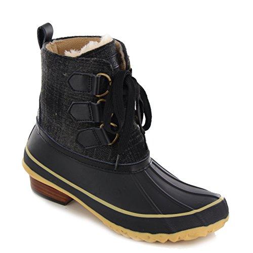 Ballard Duck Boot Nero