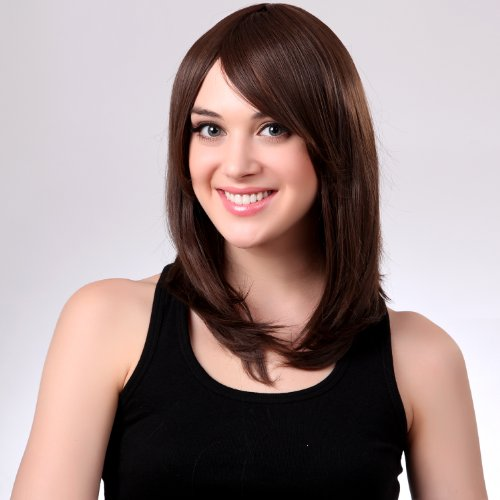 MAYSU New Beautiful Long Womens Heat Resist wigs Fashion with a Free MAYSU wig cap ht004-9